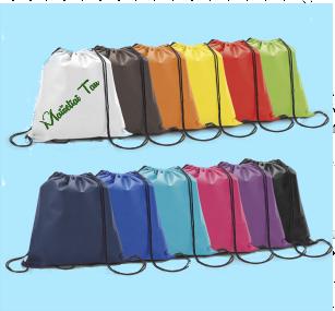 Reklaminiai sportiniai maišeliai su spauda