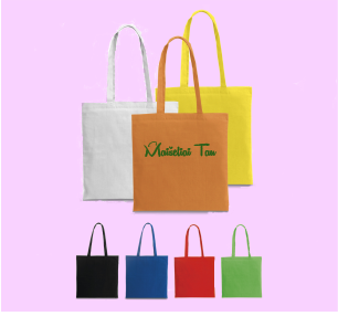 Reklaminiai medžiaginiai maišeliai su spauda